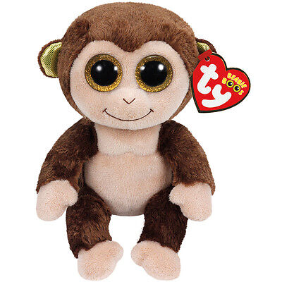 Ty Beanie Boos Audrey the Monkey NEW