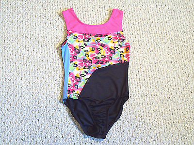NWT MORET ACTIVE GIRL (From Jacques Moret) GYMNASTIC LEOTARD GIRL XS (4/5)
