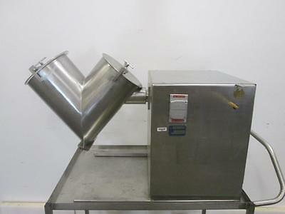 16 Quart Gemco Twin Shell Blender, S/s