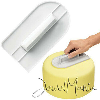 Cake Decorating Smoother Paddle Tool Sugarcraft Icing Fondant Polisher Finisher