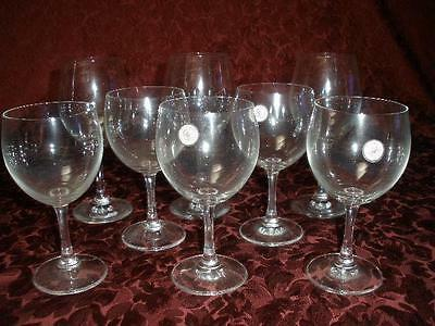 David Jones Glass Collections Assorted Selection Of Glass Wine Glasses X 8