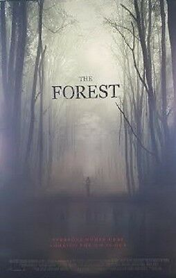 Forest Version b Double Sided Original Movie Poster 27x40 inches