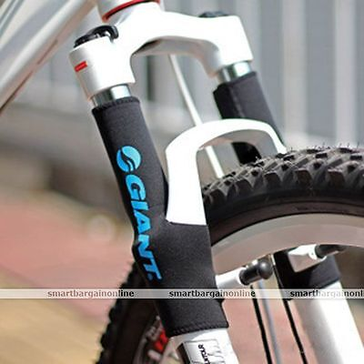 1Pair Bicycle Cycling MTB Bike Front Fork Suspension Protector Pad Wrap Cover