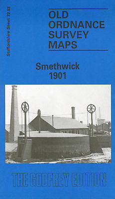 Old Ordnance Survey Map Smethwick 1901