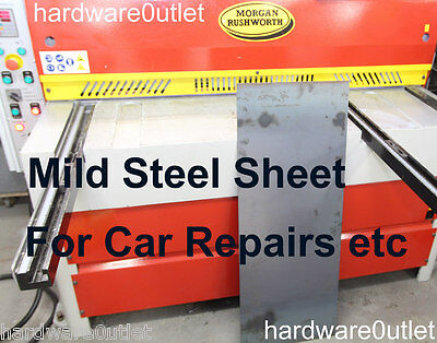 MILD STEEL SHEET Metal 0.9 1.2 & 1.5 mm For Car Repairs Welding Folding Drilling