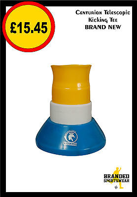 Centurion Telescopic Rugby Kicking Tee Blue/White/Yellow Brand New in packaging