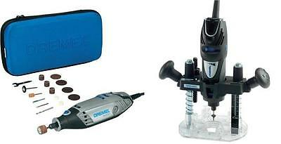 Dremel 3000-15 Rotary Multi Tool + 335 Plunge Router Attachment