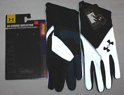 Under Armour Men's UA Coldgear Infrared Charge Reflective Run Gloves *sz choices