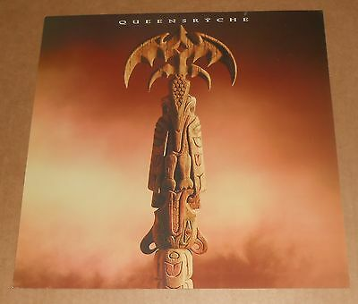 Queensryche Promised Land Poster 2-Sided Flat Square 1994 Promo 12x12