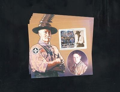 (925601) 6x Scouting, Baden Powell, Small lot, Private / local issue