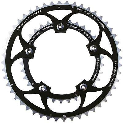 TA Zephyr 110 BCD Road Bike Double Outer 50 t Chainrings In Black