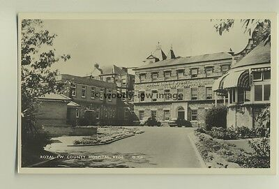 iw0064 - Royal IW County Hospital Ryde , Isle of Wight - postcard by Dean