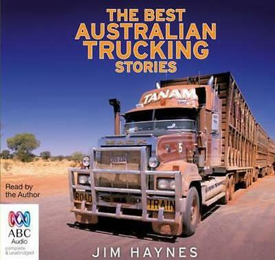 NEW The Best Australian Trucking Stories By Jim Haynes Audio CD Free Shipping