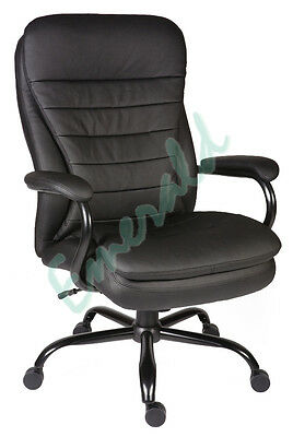 Goliath Heavy Duty Executive Leather Computer Swivel Office Chair Fast Dispatch
