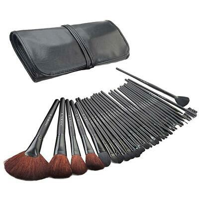 32 Piece Makeup Brush Cosmetic Set Kit Eyeshadow Foundation Powder Blush Eye