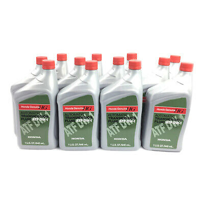 Set of 12 GENUINE Automatic Transmission Fluid 082009008 Acura CL Honda Civic