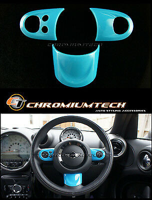 MINI Cooper/S/ONE BLUE MF Steering Wheel Cover R56 R57 Convertible R55 Clubman
