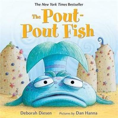 NEW The Pout-Pout Fish By Deborah Diesen Board Book Free Shipping