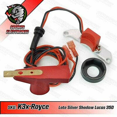 Powerspark Corniche V8 35D Electronic Ignition Kit with Powermax Red Rotor Arm