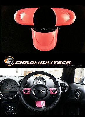 MINI Cooper/S/ONE PINK NON MF Steering Wheel Cover R56 R57 Convertible R60 R61