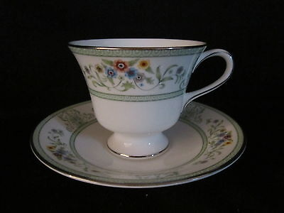 Wedgwood - AGINCOURT GREEN - Cup & Saucer