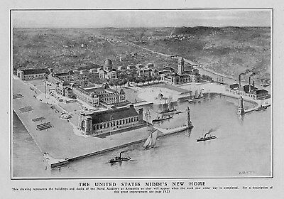Annapolis Naval Academy Buildings Architecture United States Middy's New Home