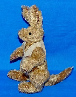 "Ty HOGAN Kangaroo Brown (Jointed 10"") Attic Treasure 2001 Boys Girls 3+ NT"