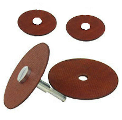 "3"" Cut Off Wheels w/ Mandrel New High Speed Metal Grinding Aluminum Oxide"