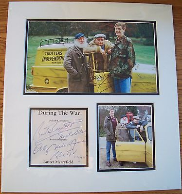 Only Fools & Horses Signed Jason, Lyndhurst & Merryfield Display AFTAL/UACC RD
