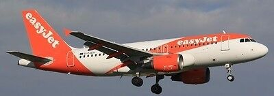 Airbus A319-100 easyJet Airliner A319 Aircraft Wood Model Reg Free Shipping New
