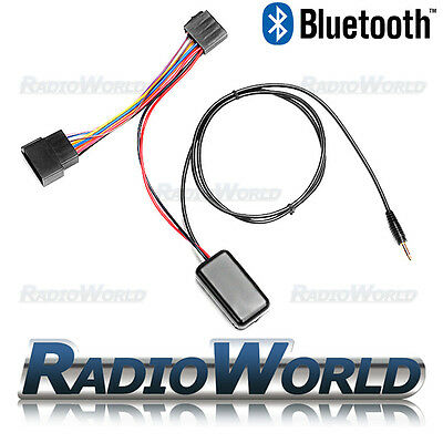12v Bluetooth Receiver 3.5mm Jack Convert AUX Wireless Music Audio Streaming ISO