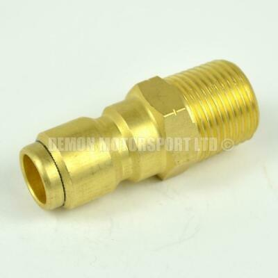 Pressure Washer Quick Release 14.8mm male to 3/8 male Brass Coupling