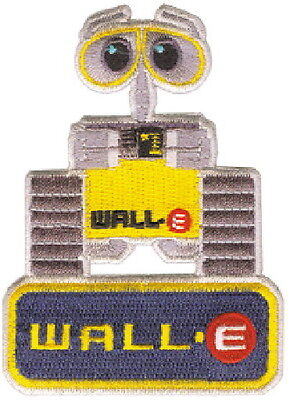 Walt Disney's Wall-E Movie Figure Embroidered Patch NEW UNUSED