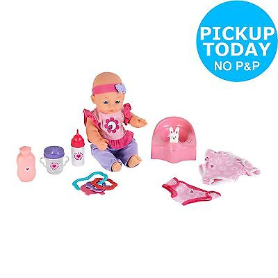 Chad Valley Babies to Love Interactive Doll and Potty Set -From Argos on ebay
