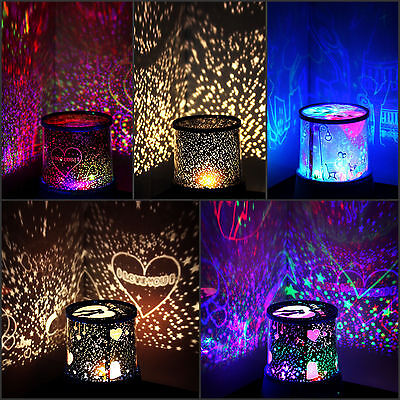 Romantic Star light LED Starry Night Sky Projector Lamp Cosmos Master Kids Gift