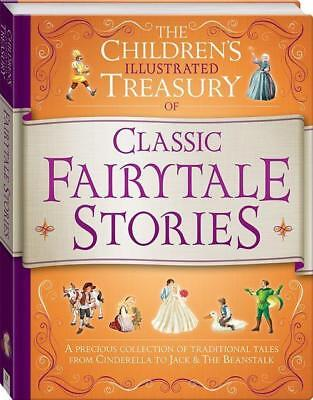 NEW Illustrated Treasury of Classic Fairytale Stories By Hinkler Books Hardcover