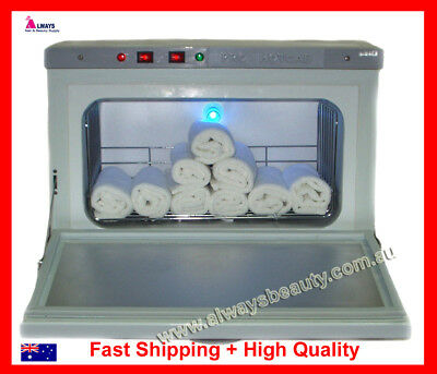 Hot Towel Cabinet with UV Light Sanitising Metal Made Heavy Duty Equipment