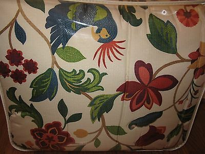 Austin Horn FIESTA Tropical Birds Floral 6P King Comforter Set