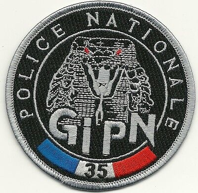 FRANKREICH POLICE NATIONALE GIPN Groupe Intervention  BAC SWAT Polizei Patch #35