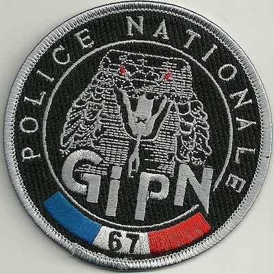 FRANKREICH POLICE NATIONALE GIPN Groupe Intervention  BAC SWAT Polizei Patch #67