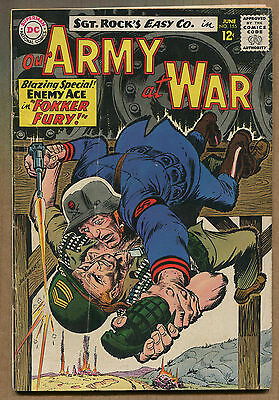 "Our Army At War #155 - ""Enemy Ace"" - 1965 (Grade 5.5) WH"