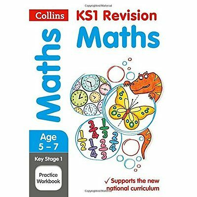 KS1 Maths Practice Workbook (Collins KS1 Revision and P - Paperback NEW Collins