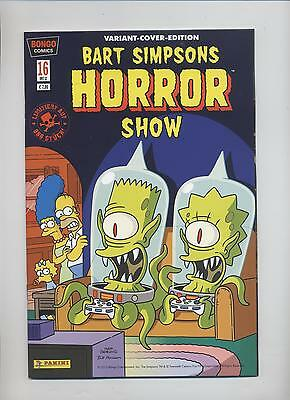 BART SIMPSONS HORROR SHOW # 16 VARIANT - Lim. 888 Ex. - COMIC ACTION 20012 - TOP