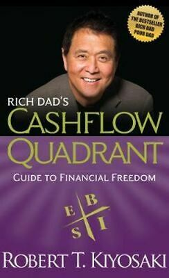 NEW Rich Dad's Cashflow Quadrant By Robert T. Kiyosaki Paperback Free Shipping