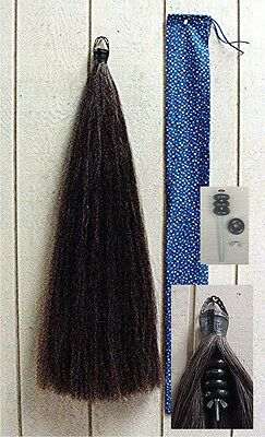 NEW 2# Horse Tail Extension 1lb Hair & 1lb weights 40 long by KATHYS TAILS AQHA