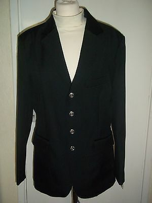 "Men's Horse Riding Show Jacket - Stanley - Black - size 40""  Shires (was £69.99)"