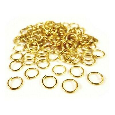Charming Beads HA11900 Antique Silver Plated Iron 1.5 x 12mm Jump Rings Packet of 75