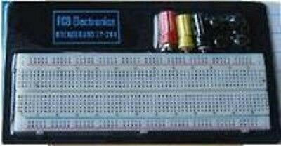 FCB*USA 1x 830-pt Breadboard with 3 power post from Michigan, USA  *LARGE
