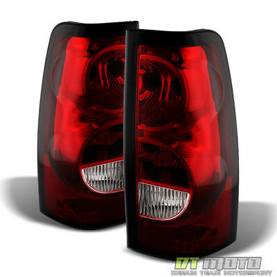 2003-2006 Chevy Silverado Replacement Tail Lights Brake Lamps Left+Right 03-06
