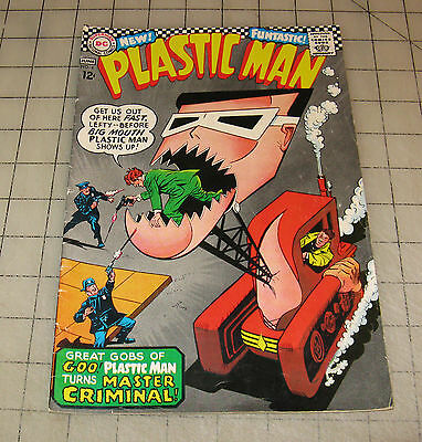 PLASTIC MAN #4 (May-June 1967) VG+++ Condition Comic